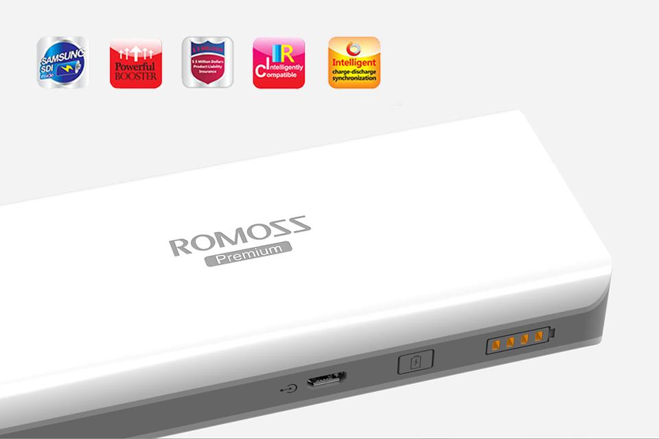 Η ασυναγώνιστη τεχνολογία της ROMOSS!